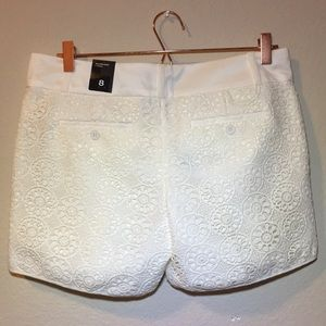 The Limited Shorts - NWT The Limited Tailored crochet shorts
